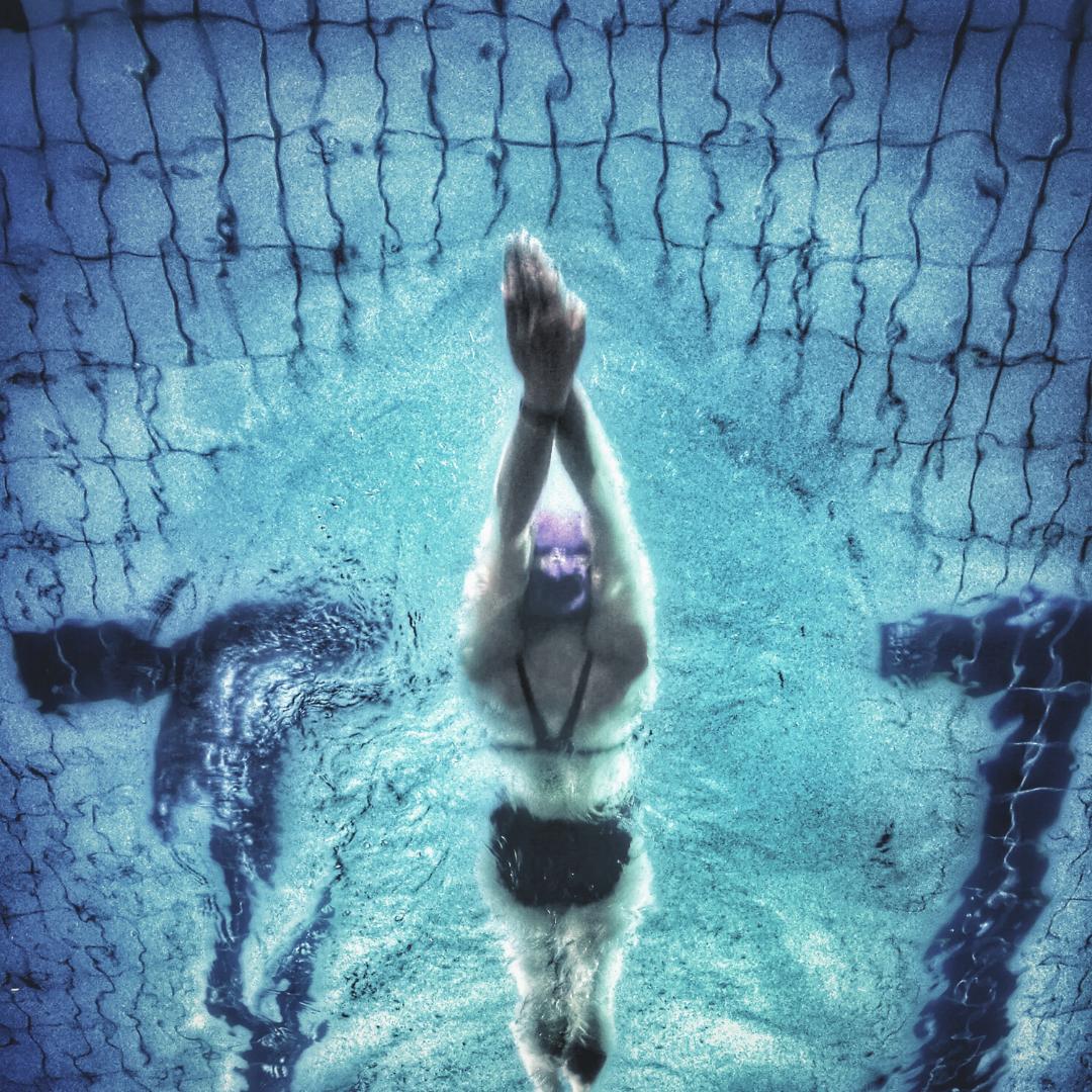 La vida es como nadar